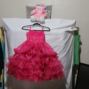 Tip toe Young girl pageant dress special occasion